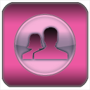 3D Black & Pink for Facebook 1.54
