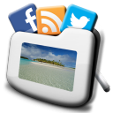 SocialFrame HD (Slideshow/Photo frame) 1.9.0 for Android