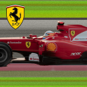 Ferrari F1 scrolling Live Wallpaper (Ad-sup) 1.2 for Android