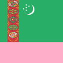 Turkmenistan Waving Flag Live Wallpaper 1.0 for Android