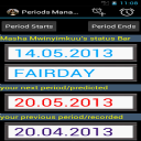 Periods Manager 1.0.8 for Android