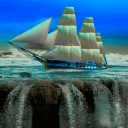 Sailing Waterfall LWP 2 for Android