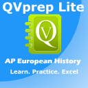 FREE QVprep Lite AP European History : Learn Test Review for AP advanced placement Euro History for SAT Subject test, for College History majors, Schools, Colleges and exam preparation 1