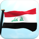 Iraq Flag 3D Free Wallpaper 1.3 for Android
