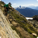 Mountain Biking Mosaic LWP 4.1 for Android