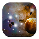 Galaxy S4 Dark Space LWP 1.0 for Android