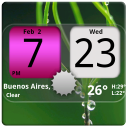 Flip Clock NicePink Widget 4x2 3.6.1 for Android