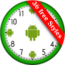 Clock Widget 1.0.1 for Android