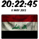 Iraq Digital Clock 2.65 for Android