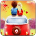 Lovely Couple Live Wallpaper 1.0 for Android