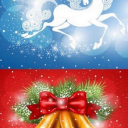 Merry Christmas Snow Live Wallpaper 26 for Android