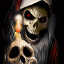 Merry Christmas Skull Live Wallpaper 26 for Android