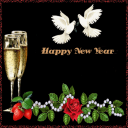 New Year Doves Live Wallpaper 2 for Android