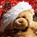 Merry Christmas Teddy Live Wallpaper 26 for Android