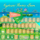 Keyboard Flowers Green 1.1 for Android