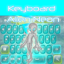 Keyboard Alien Neon 1.2 for Android