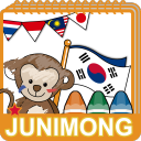 JUNIMONG Coloring - flags ASIA1 1.00.04 for Android