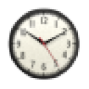 Chrome Clock Widget 2x2 1.0 for Android