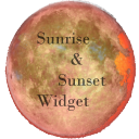 Sunrise & sunset widget 1.4.1 for Android