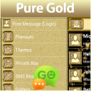 GO SMS Pro Pure Gold 1.0.0 for Android