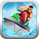 Crazy boat racing 1.0 for Java phone