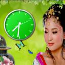 Beauty Girl Clock Free LWP 1.0 for Android