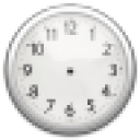 Chrome Clock Widget Large 4x3 1.0 for Android