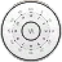 Vatch White Clock Widget 2x2 1.0 for Android