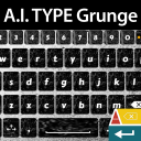 A.I. Type Keyboard Grunge 1.1 for Android