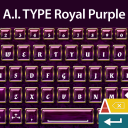 A.I. Type Keyboard Royal Purple 1.1 for Android