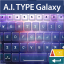A.I. Type Keyboard Galaxy 1.1 for Android