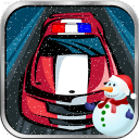 Police Car Speed Race 1.0 for Java phone