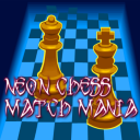 Chess Neon match mania game free 1.0 for Android