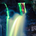 #1 Neon Waterfalls Live Wallpaper 26 for Android