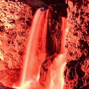 #1 Red Waterfalls Live Wallpaper 26 for Android