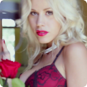 Red rose girl 1 live wallpaper 1.2 for Android