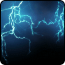 Blue Lightning Live Wallpaper 1.00 for Android