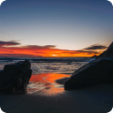Sunset Beach Live Wallpaper 1.00 for Android