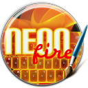 Keyboard Neon Fire 1.7 for Android