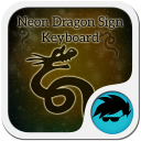 Neon Dragon Sign Keyboard 1.4 for Android