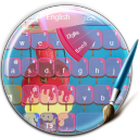 Melting Ice Cream Keyboard 1.5 for Android