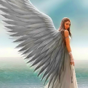 Beach Angel Waves Live Wallpaper 26 for Android