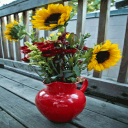 Sunflower Pot Live Wallpaper 2 for Android