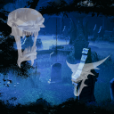 Ghost Halloween Cemetery LWP 1.12 for Android