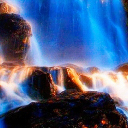 Foggy Waterfall Live Wallpaper 26 for Android