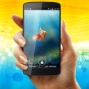 Goldfish in Your Phone Live Wallpaper 1 for Android