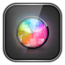 Multi Color Clock 1.1 for Android