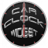 Car logo clock widget 1.1 for Android