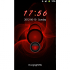 GO Locker Red Flame Theme 1.0.4 for Android