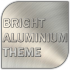 Bright Aluminium Go Launcher Ex Theme 1.0 for Android